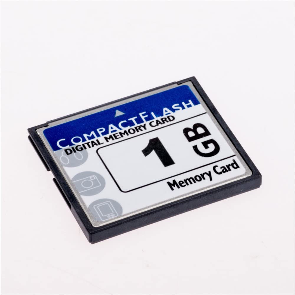 FengShengDa 1GB Compact Flash Memory Card Speed Up to 50MB/s, Frustration-Free Packaging- SDCFHS-1G-AFFP (1G)