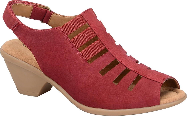 Comfortiva Kvinnor, Faye Mid Heel Heel Heel Sandal  omtänksam service