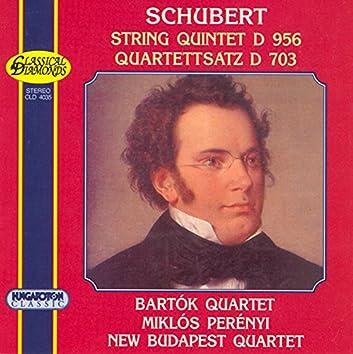 "Schubert: String Quintet in  C Major, D. 956 / String Quartet No. 12 in C Minor, ""Quartettsatz"""