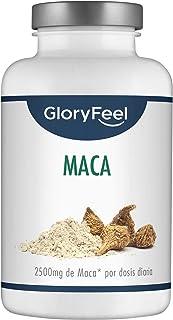 Extracto de Maca Andina - 200 Cápsulas Veganas con la mayor concentración 10:1 - Enriquecido con Vitamina B12 para una mejor absorción - Hecho en Alemania