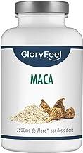 Maca Andina Cápsulas - 25.000 mg Extracto de Maca por cada dosis de 2500mg de Maca + Vitamina B1-200 cápsulas veganas de Maca altamente concentrada 10:1 - Aumenta energía y vitalidad