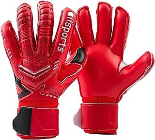 Jalunth Guantes de Portero - Guantes de Portero de fútbol para niños y Adultos con protección para los Dedos