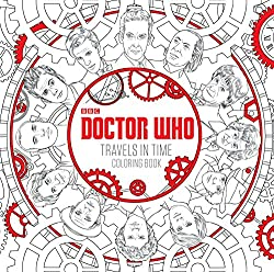 dr who travels in time coloring book great gift for the geek in your family