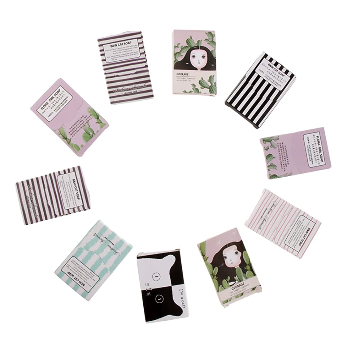 香水トーンいつかFenteer 石鹸シート 手洗い 石鹸 フレーク キャンプ アウトドア 旅行小物 便利 約150枚