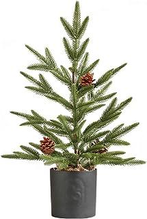 شجرة عيد الميلاد الاصطناعي، مصغرة شجرة الصنوبر الاصطناعي للمنزل غرفة المعيشة حديقة في الداخل الديكور في الهواء الطلق Artif...