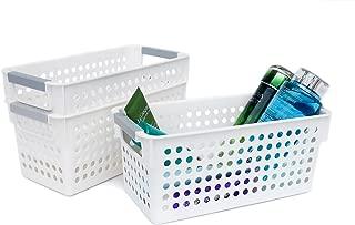 Best white plastic organizer Reviews