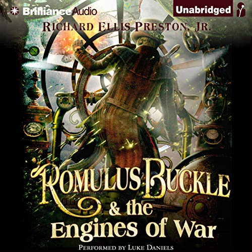 Couverture de Romulus Buckle & the Engines of War