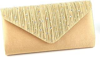 Women Evening Envelope Handbag Clutch Bag Party Prom Shoulder Bag