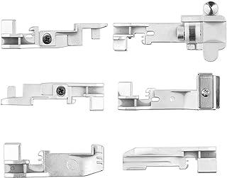 6 unids ONEVER Serger Overlock Prensatelas accesorio para