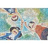 Puzzle House- PT Rompecabezas de Madera Poster, Comic One Piece Mosaic...