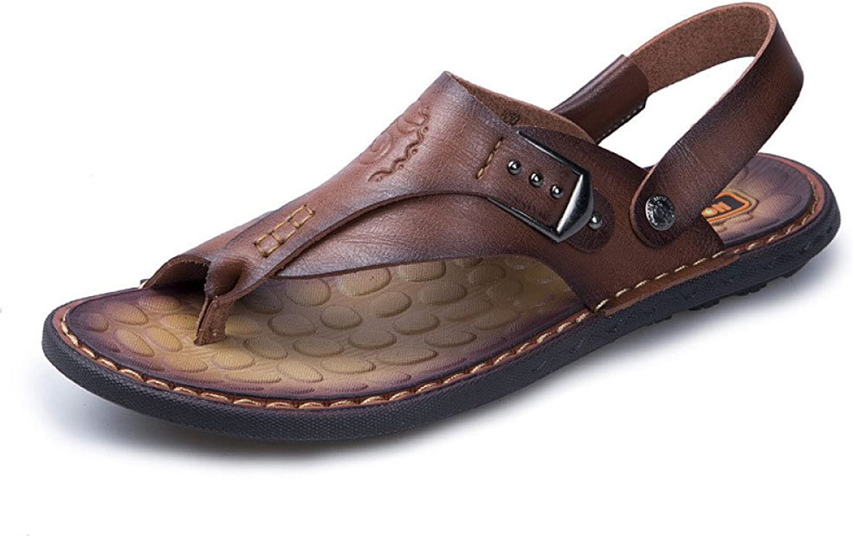 Mode Herren Strand Strand Strand Schuhe Freizeitschuhe Sandalen,Darkbraun-40  eecf12