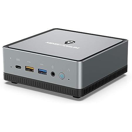 Mini PC AMD Ryzen 5 PRO 2500U   16 GB RAM 512 GB M.2 SSD   Radeon Vega 8 Graphics   Windows 10 Pro   Intel WIFI6 AX200 BT 5.1   4K HDMI 2.0 Display USB-C   2X RJ45   4X USB 3.1  Pequeño Formato