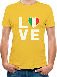 Tstars - I Love Italy - Italian Patriot Flag of Italy Gift T-Shirt