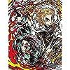 【店舗限定特典・メーカー早期予約特典付き】 劇場版 鬼滅の刃 無限列車編 完全生産限定版 [DVD] L版ブロマイド7枚セット(早期予約特典)・A1半裁タペストリー・新規描き下ろしイラストA4キャラファイングラフ(竈門炭治郎、魘夢)・A4クリアファイル・メーカー早期予約特典キャラクターデザイン・松島 晃描き下ろし色紙付き (キャラクターデザイン・松島晃 描き下ろし収納BOX・店舗オリジナル描き下ろしデジジャケット仕様)