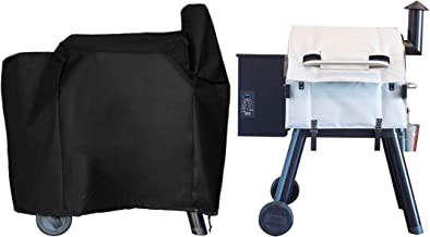 BBQ Butler Grill Insulation Blanket and Pellet Grill Cover Duo - Grill Accessories - Smoker Cover - Pellet Grill Accessories - Compatible with Traeger Pro 575, Traeger 22 Series and Lil' Tex