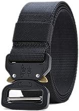 Ideal para Entrenamiento Militar Hebilla de Liberaci/ón R/ápida OMORC Cintur/ón T/áctico Militar Camping y Actividades al Aire Libre Caza con Bolsa y Gancho T/áctico Molle Ajustable Cintura de Nylon