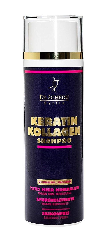 ハンサムエスカレート関税[(Dr.Schedu Berlin) Dr.Schedu Berlin] [Keratin Collagen Dead Sea salts Shampoo 200 ml, made in Germany/ケラチンコラーゲン死海塩シャンプー 200 ml] (並行輸入品) [並行輸入品]
