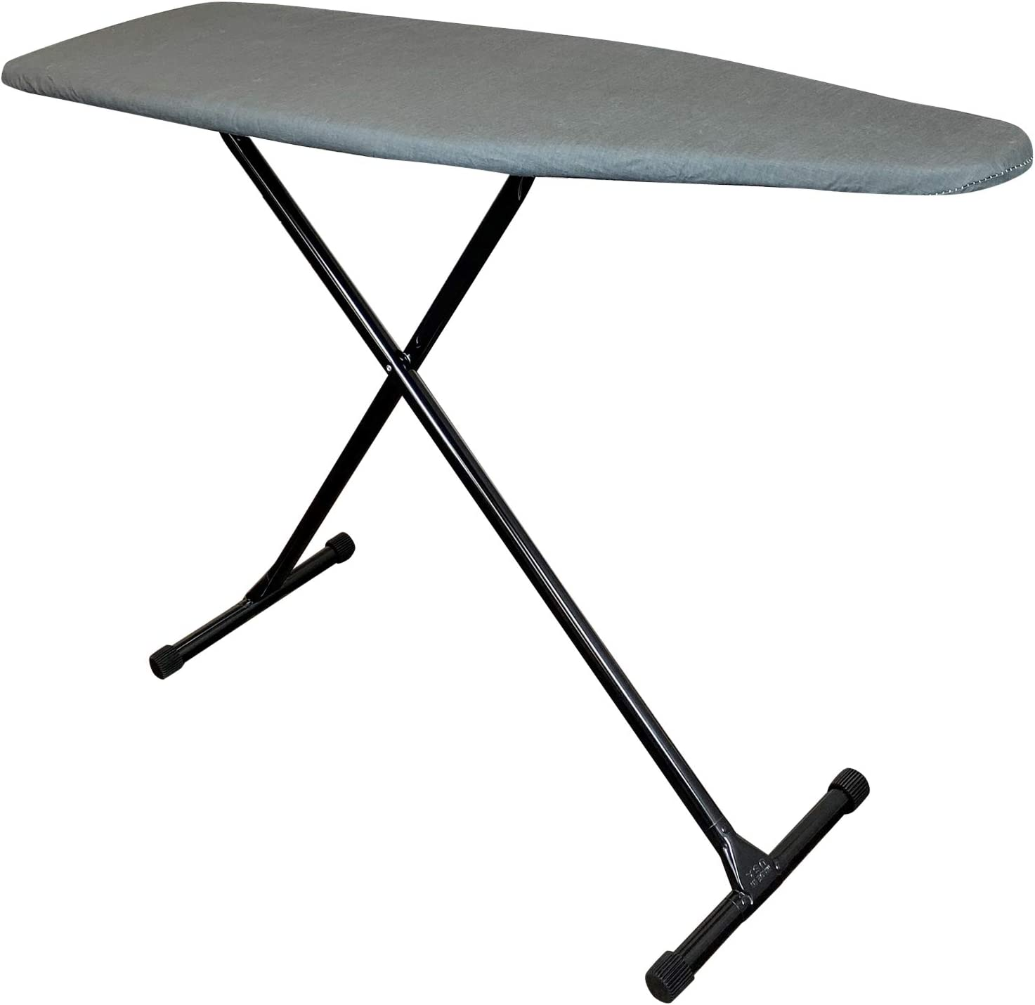 HOMZ T-Leg Ironing Board Made in Gray Charcoal Nippon regular agency Max 45% OFF and Bla The USA