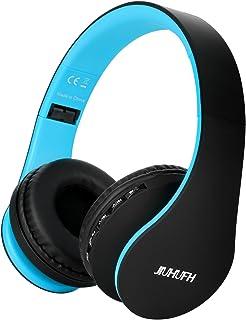 comprar comparacion Auriculares Inalámbricos sobre el oído, JIUHUFH Auriculares Plegables Bluetooth con Micrófono Incorporado / 3,5 mm Auricul...