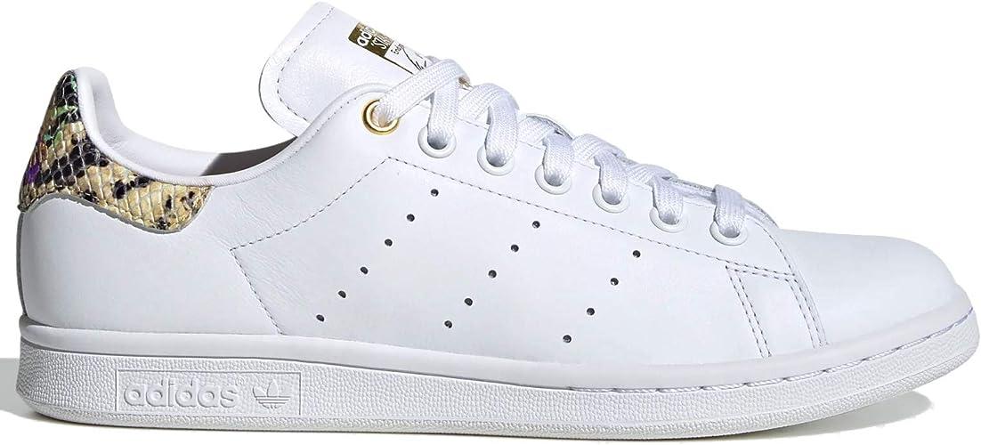 adidas Originals Stan Smith Chaussures de Sport pour Femme, Blanc ...