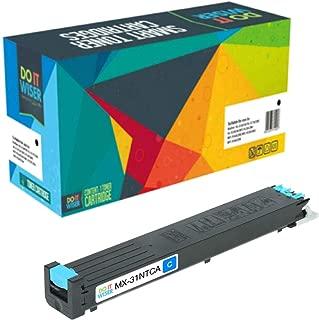 Do it Wiser Compatible Toner Cartridge Replacement for Sharp MX-31NTCA Sharp MX-2600N, MX-3100N, MX-4101N, MX-5001N, MX-4100N Printers - Cyan