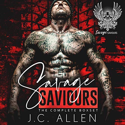 Savage Saviors Audiobook By J.C. Allen cover art