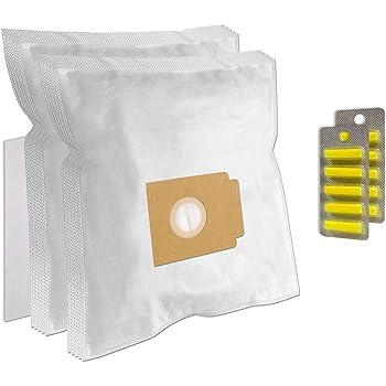 Set 10 Ambientadores + Filtro + 10 Bolsas de aspiradora para UFESA AT 7503, AT7503: Amazon.es: Hogar