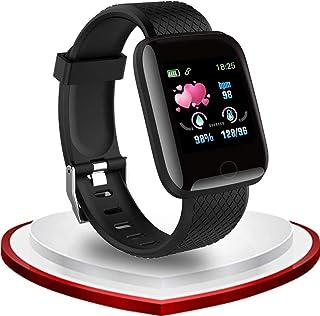 Smartwatch Cronometro Orologio Fitness Tracker Contapassi Calorie Cardiofrequenzimetro,Donna Uomo Schermo Colori, Fitness ...