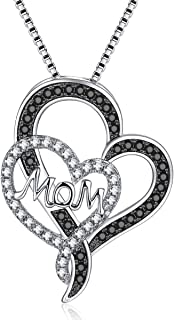 Always My Mother Forever My Friend Pendant Necklace for Mom - Luxury Gift Box Lights Her Face Up w/a Smile