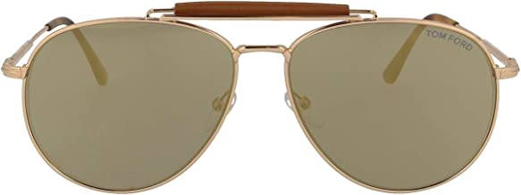 Tom Ford FT0536 Sean Sunglasses Metal Rose Gold w//Pink Mirror Lens 28Z TF536