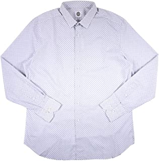 [44] [Bagutta] バグッタ 長袖シャツ メンズ グレー 灰色 大きいサイズ [13216] [並行輸入品]