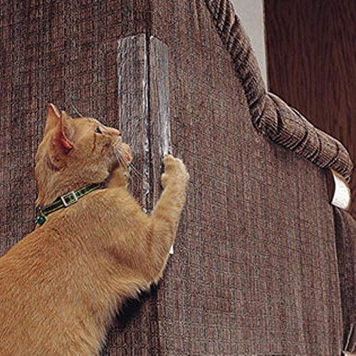 TENGGO Honana Paquete de 2 Gato Protector de Esquina de Rayado No se Necesitan pasadores para el sofá de Muebles con arañazos Gato