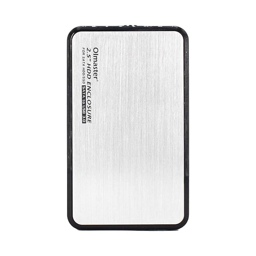 一方、価値社員外付け2.5インチHDDエンクロージャUSB 7.0 / 9.5 SATA SSDラップトップ用ハードドライブケース - 銀