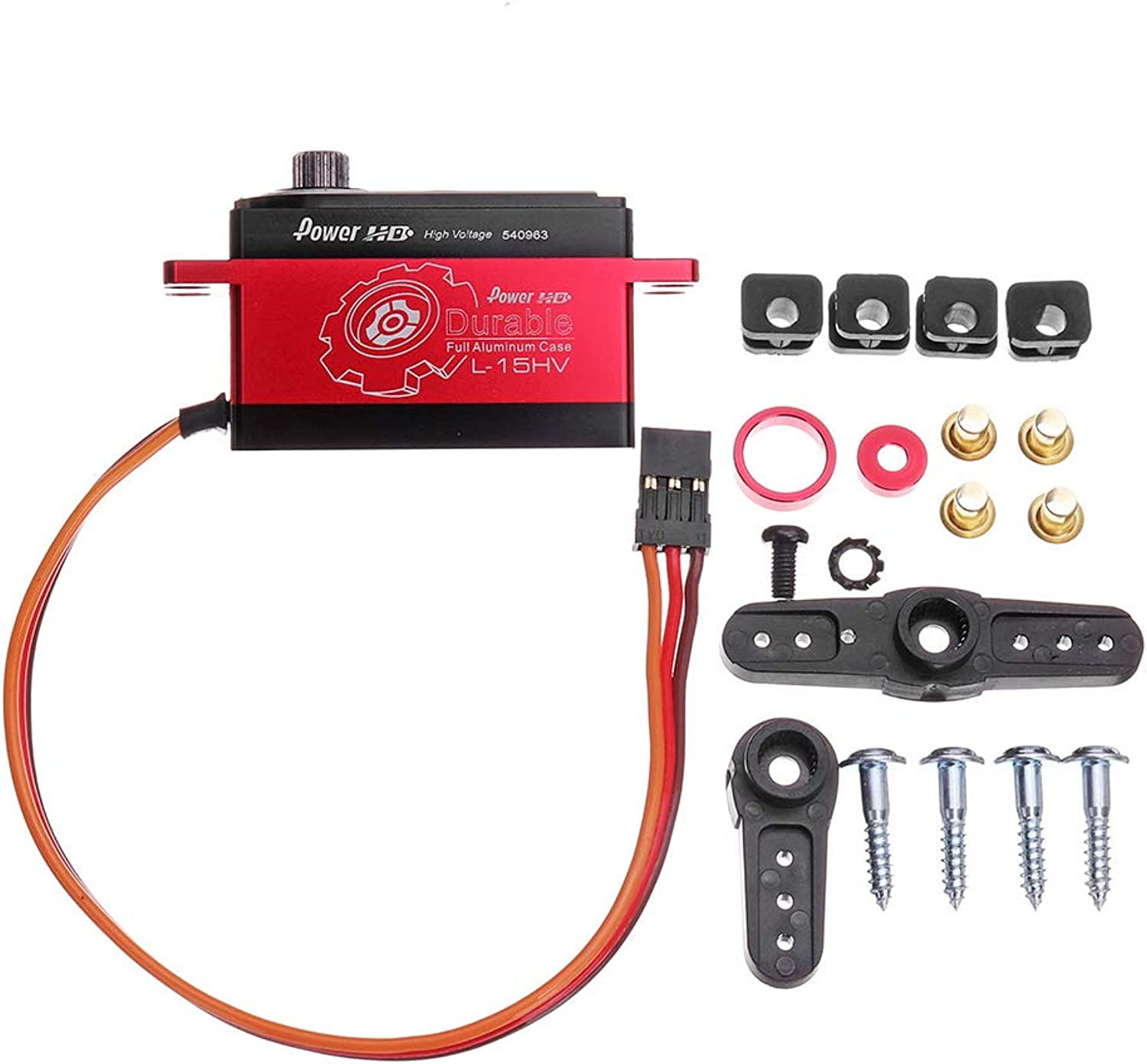 protección post-venta LaDicha Power HD L-15Hv Servo Servo Servo Digital De Metal para 1 10 Racing On-Road Off-Road RC Coche  ventas calientes