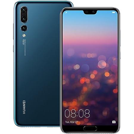 Huawei P20 Pro (CLT-L29) 6GB / 128GB 6.1-inches LTE Dual SIM Factory Unlocked - International Stock No Warranty (Midnight Blue)