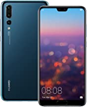 Huawei P20 Pro (CLT-L29) 6GB / 128GB 6.1-inches LTE Dual SIM Factory Unlocked - International Stock No Warranty (Midnight ...