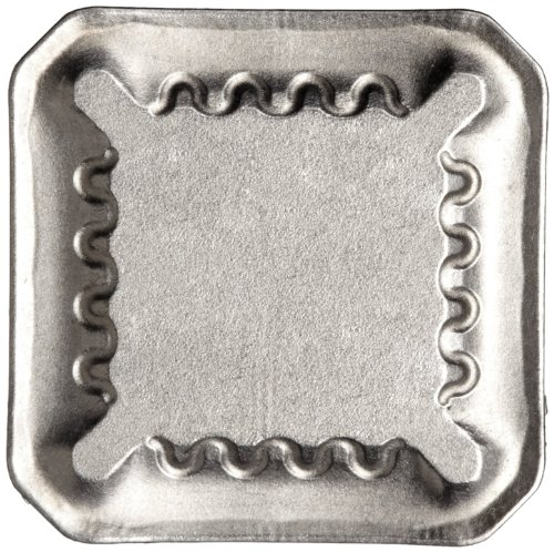 "Sandvik Coromant COROMILL Cermet Milling Insert, 345R Style, Square, CT530 Grade, Uncoated, 345R1305MPM,0.22"" Thick, 0.032"" Corner Radius (Pack of 10)"