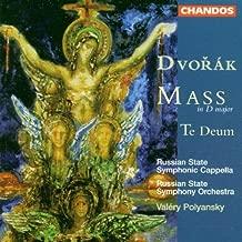 Dvor¨¢k: Mass in D major; Te Deum By Antonin Dvorak (1999-10-01)