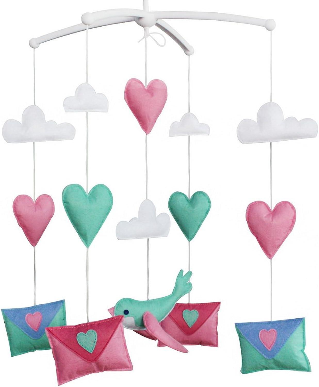Hanging Pigeon Toy Baby Crib Mobile [colorful Envelope]