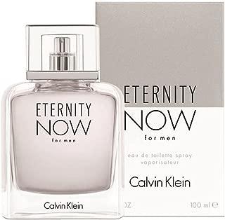 C k Eternity Now Men EDT Spray 3.4 OZ. / 100 ML.