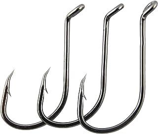 JSHANMEI Octopus Hooks Fishing Hooks Black High Carbon Steel Fish Hooks Freshwater Saltwater Sports Fishing Hook