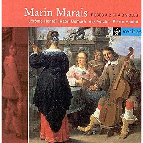 Marin Marais : Pièces à deux et trois violes