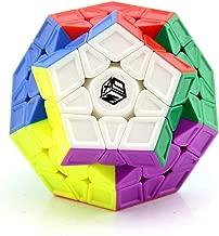 LiangCuber Qiyi X-Man Galaxy V2 Megaminx Sculpted Stickerless Speed Cube Mofangge Qiyi Megaminx V2 Sculpted Cube Puzzle(Sculpted Version)