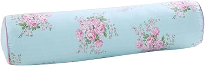 Dual Cylindrical Pillows Sofa Cushions Solid Color Long Washable Pillow (Color-14)