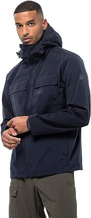 Jack Wolfskin Men's Summer Storm Men's Windproof Jacket 100% PFC