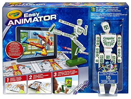 Crayola Color Alive Easy Animation Studio, Gift for Kids, 6, 7, 8, 9, 10 (Discontinued by Manufacturer)