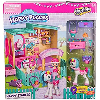 Happy Places Shopkins Happy Stables Playset | Shopkin.Toys - Image 1