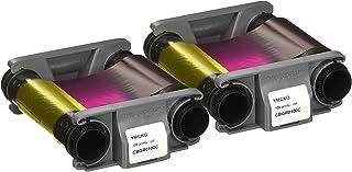 2 x Evolis Badgy CBGR0100C Color Ribbon - YMCKO - 100 Prints with Bodno Software Demo