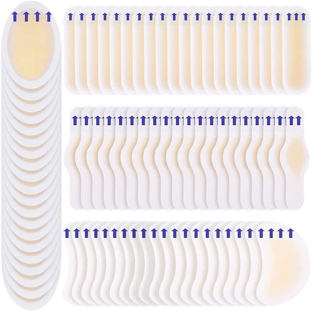 store 80 Low price Pcs Blister Bandages Hydrocolloid Adhesive Guard Gel