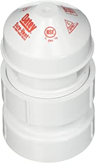 """OATEY 1.5"""" – 2"""" 20 DFU SURE-VENT AAV With 1-1/2"""" X 2"""" PVC Schedule 40 Adapter"""